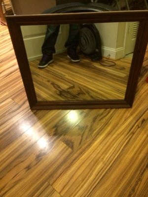 Nice wood frame mirror for Sale in Rockville, MD