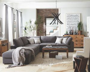 Grey sectional sofa couch ( modular design ) for Sale in Miami, FL