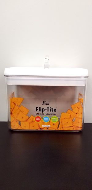 Felli Flip Tite Food Storage Container | Stackable for Sale in Chino Hills, CA