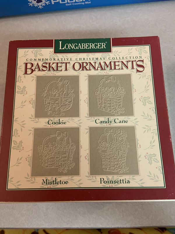 22 Longaberger Ornaments