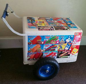Ice cream cart for sale Sevende Carrito de paletas for Sale in San Diego, CA