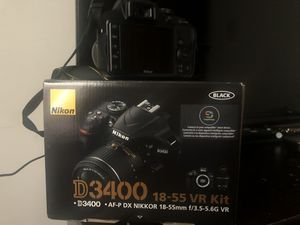 Nikon D3400 55mm lens for Sale in Columbus, OH