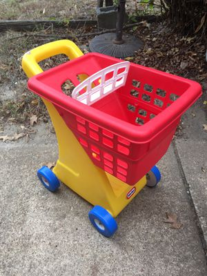 Little tike shopping cart new only 15 Firm for Sale in Glen Burnie, MD
