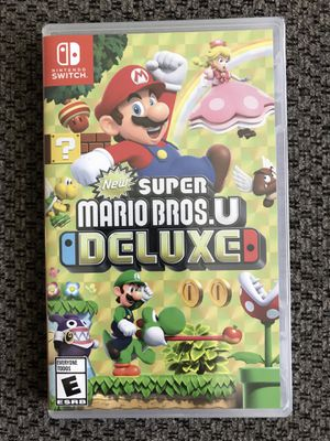 Brand New - New Super Mario Bros U Deluxe - Nintendo Switch for Sale in Akron, OH