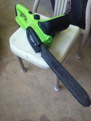 """PORTLAND 14"""" ELECTRIC CHAINSAW LIKE NEW for Sale in Converse, TX"""