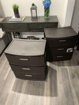 Plastic storage drawers for Sale in Miami, FL