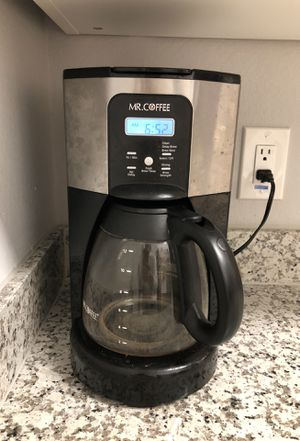 12 cup automatic coffee maker with settings for Sale in Houston, TX