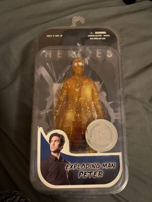 exploding man peter figure for Sale in Kingsburg, CA