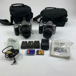 Canon EOS Rebel 300D cameras w/lenses for Sale in Simi Valley, CA