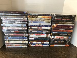Lot of 61 Brand New DVDs Price is for All for Sale in Manassas, VA