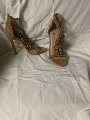 Fringe open toe heels for Sale in Cherry Hill, NJ