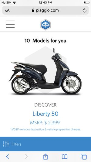 LibertyMotor vehicle scooter for Sale in Richmond, VA