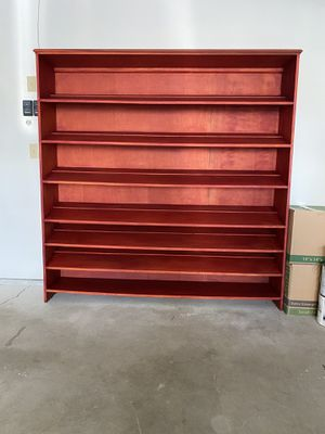 "Extra Large ""Custom Built ""Wood Shoe Shelving Organizer for Sale in Lincoln, RI"