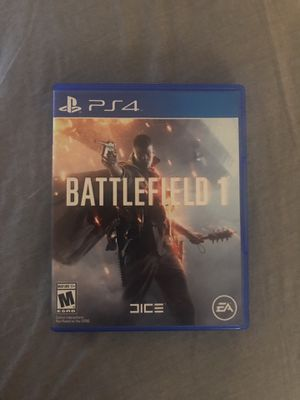 Battlefield 1 PS4 for Sale in Denver, CO