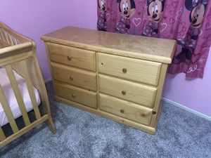 Beautiful Natural wood dresser! for Sale in Corona, CA