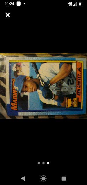 Ken Griffey JR baseball card for Sale in Tacoma, WA