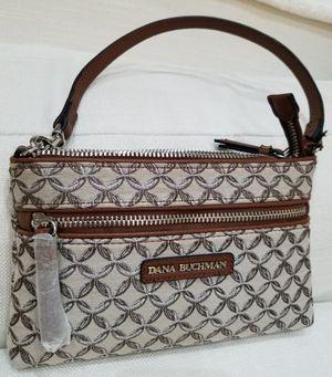 BRAND NEW w/Tags!! Dana Buchman Ladies Woman Wristlet Purse Bag Handbag Tote Satchel + Zippered Compartments Storage Organizer for Sale in Monterey Park, CA