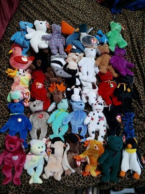 47 beanie babies for Sale in Tacoma, WA