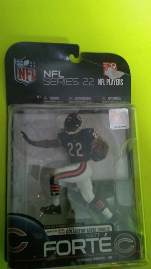 Matt forte Chicago bears collectable figure. for Sale in Chicago, IL