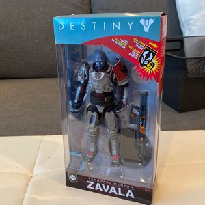 McFarlane Toys 13043-0 Destiny 2 Zavala Collectible Action Figure for Sale in San Diego, CA