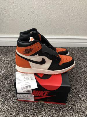 """Air Jordan 1 """"Shattered Backboard"""" Size 9 w/ Receipt for Sale in Broomfield, CO"""