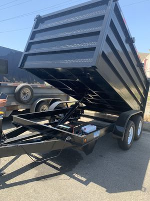 8x12x4 Dump Trailer for Sale in San Diego, CA