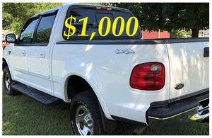 🔑📗🔑$1,OOO For Sale URGENT 2OO2 Ford F-15O CLEAN TITLE🔑📗🔑 for Sale in Knoxville, TN