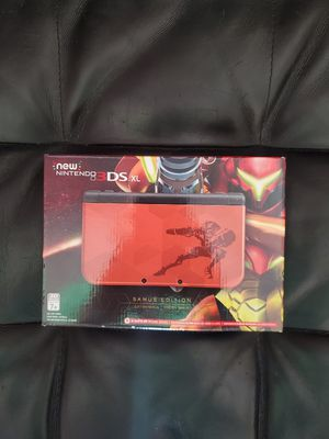 NEW Nintendo 3DS XL Samus Limited Edition for Sale in Pittsburgh, PA