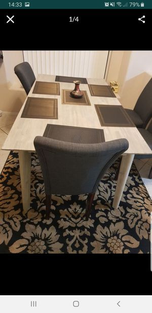 Wood dining table for Sale in Phoenix, AZ