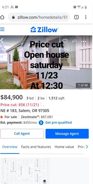Open house for Sale in Brooks, OR