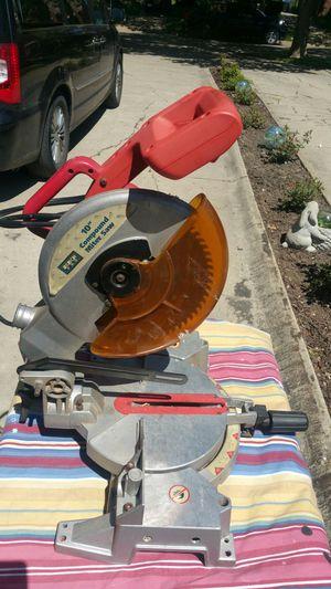 "10"" Compound Miter Saw for Sale in Detroit, MI"