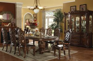 7-Pc Brown Dining Set for Sale in Fresno, CA