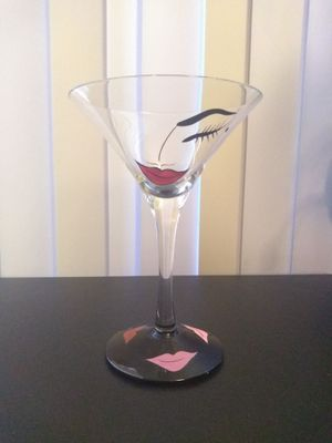 Flirtini Lolita Martini Glass for Sale in Denver, CO