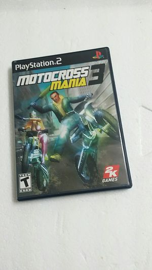 Motocross 3 mania, PS2 for Sale in El Cajon, CA