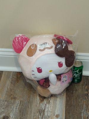 NEW Sanrio Hello Kitty Teddy Tan Side Sit XL Panda Plushie for Sale in Surfside Beach, SC