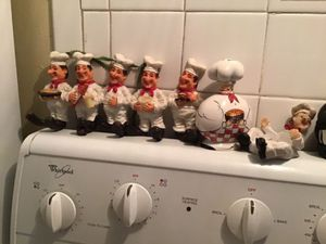 Chefs - Last chance! Moving! collectible kitchen Chefs - 7 items - last chance to buy, moving must sell for Sale in Boca Raton, FL