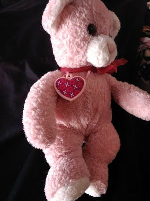 PINK TEDDY BEAR WITH LOCKET. NEW. for Sale in Las Vegas, NV