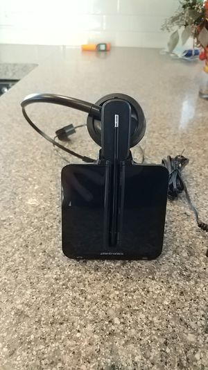 Plantronics wireless headset for Sale in Morrison, CO