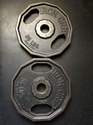 Iron Grip 35lb plates for Sale in Philadelphia, PA