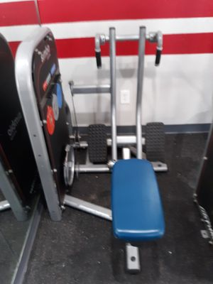 Low row back machine works great for Sale in Austin, TX