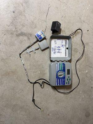 Hunter sprinkler controller + power + wireless receiver. for Sale in Austin, TX