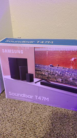 Samsung soundboard T47M for Sale in Denver, CO