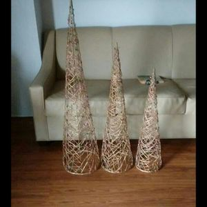 3 Beaded Gold Trees for Sale in Nashville, TN