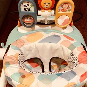 Fisher-Price Deluxe Sit-Me-Up Floor Seat with Food And Toy Tray for Sale in Dallas, TX
