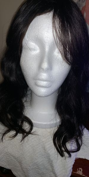 Full wig with bangs 100% human hair $90 or best offer for Sale in Waterbury, CT
