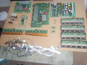 Pioneer TV components computer boards complete set for Sale in Hillsboro, OR