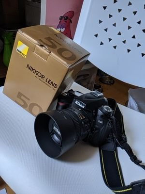 Nikon D90 with 50mm f/1.8 lense for Sale in Rosemead, CA