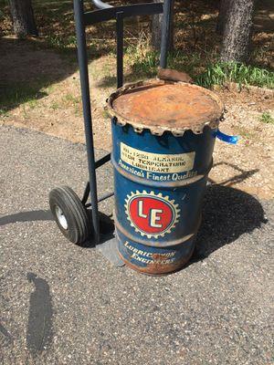 16 gal oil barrel for Sale in Baxter, MN