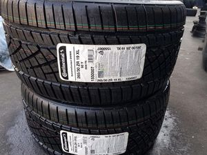 2 NEW CONTINENTAL 265/30R19 DWS06 for Sale in Visalia, CA