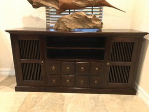 Solid Wood Buffet, tv stand, storage for Sale in Delray Beach, FL
